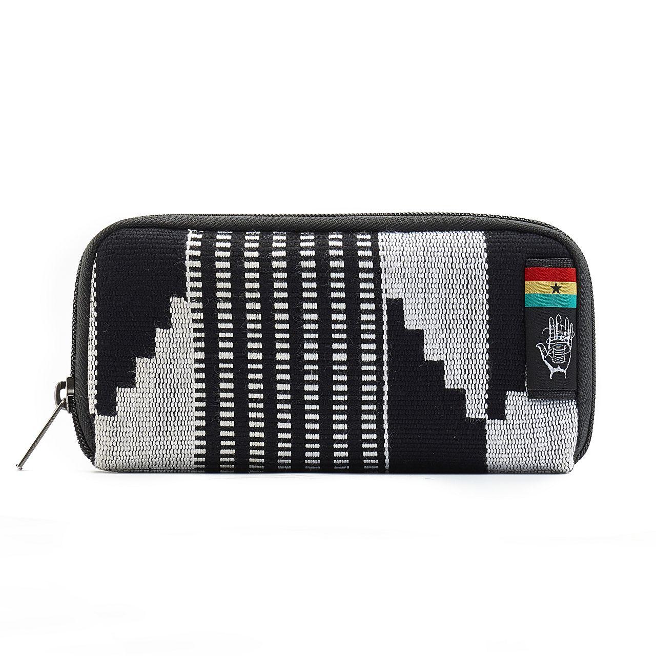 Ethnotek Chiburi Accordion Wallet RFID Block Kente
